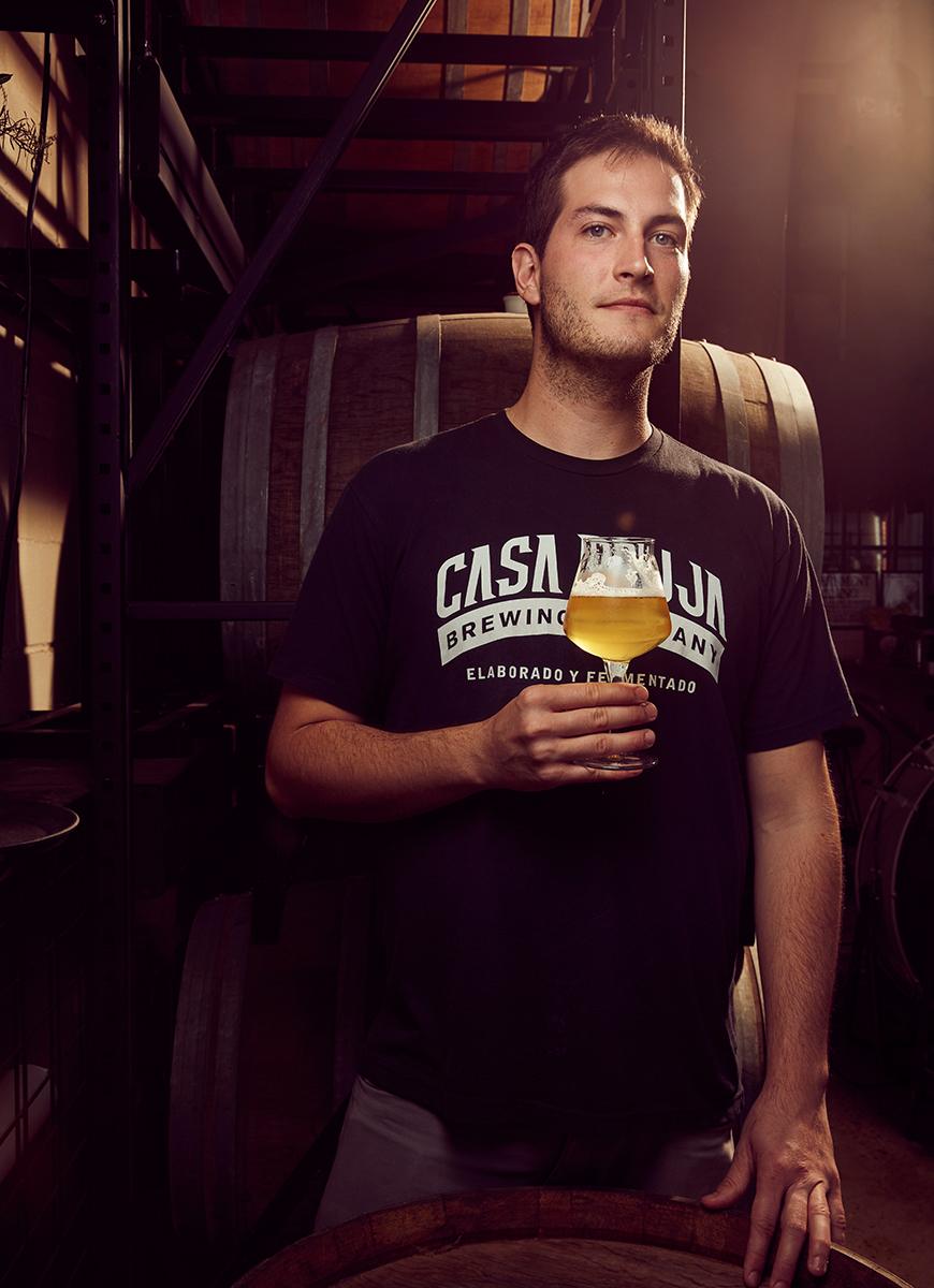 Stefano Marin, Head Brewer of Casa Bruja Brewing Company