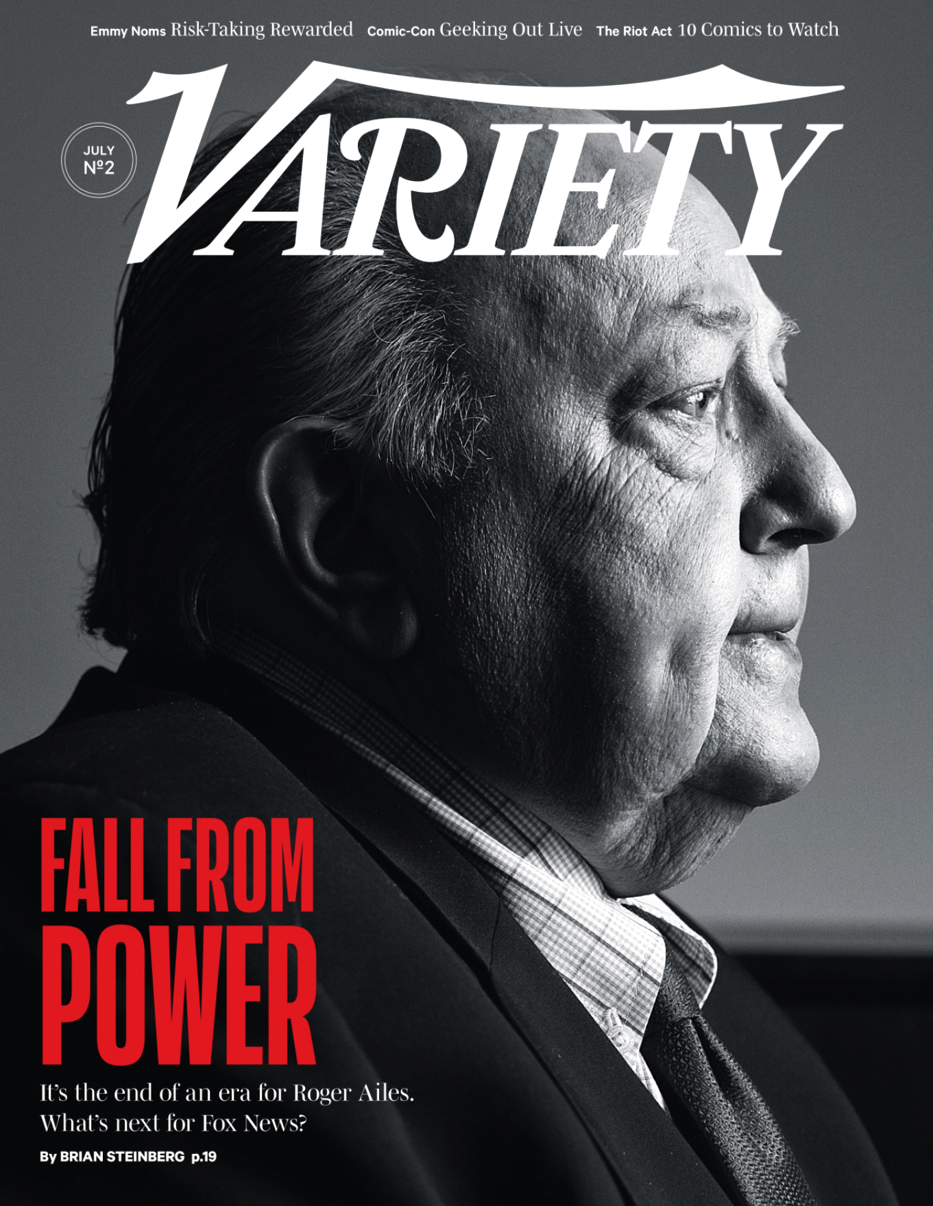 Roger Ailes for Variety