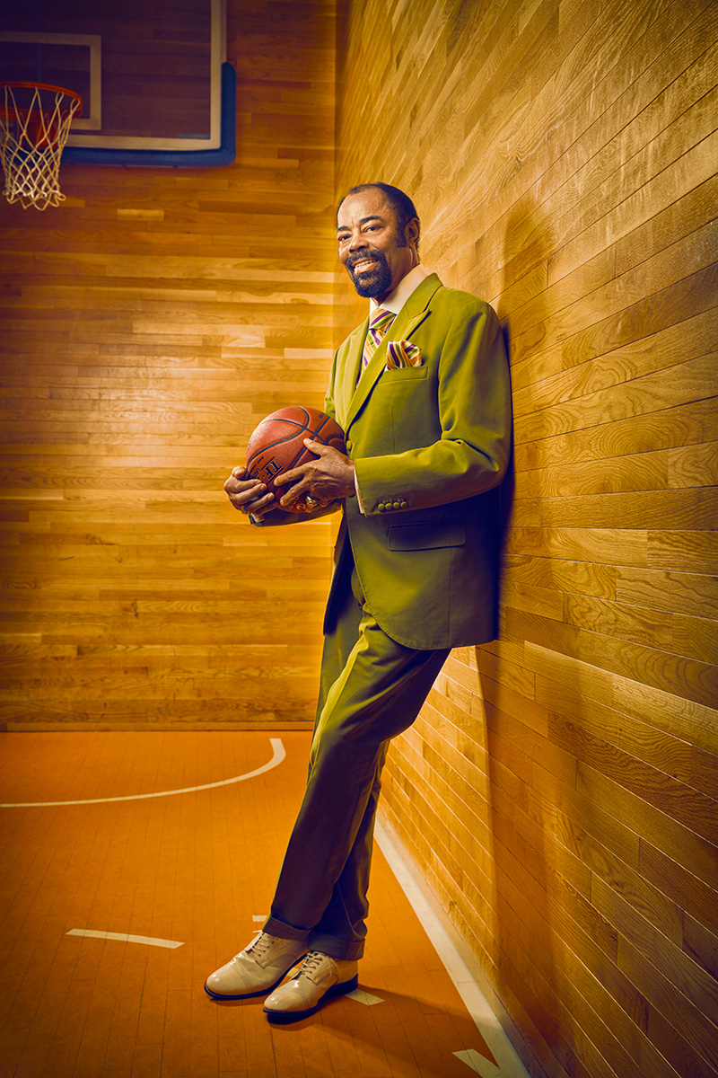 Walt Clyde Frazier by Matt Furman - www.furmanfoto.com
