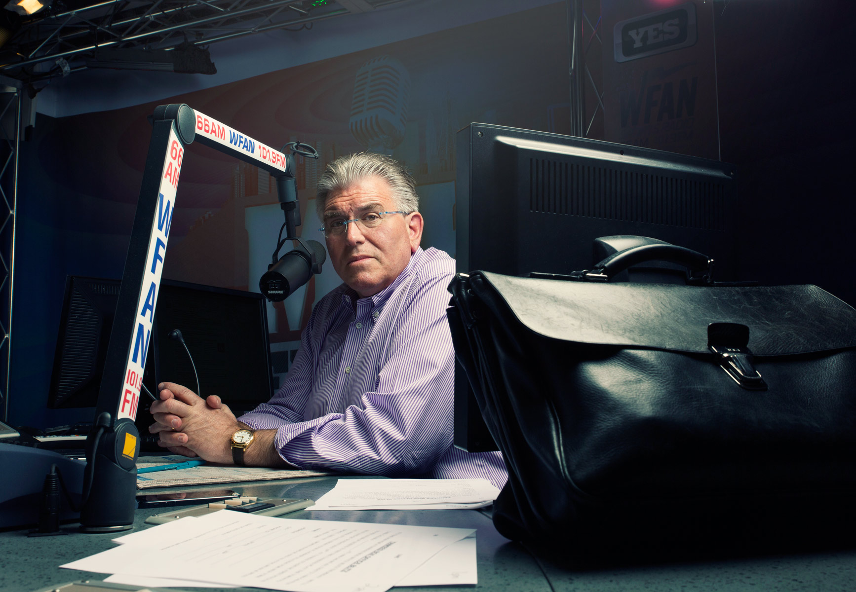 Mike Francesa by Matt Furman - www.furmanfoto.com