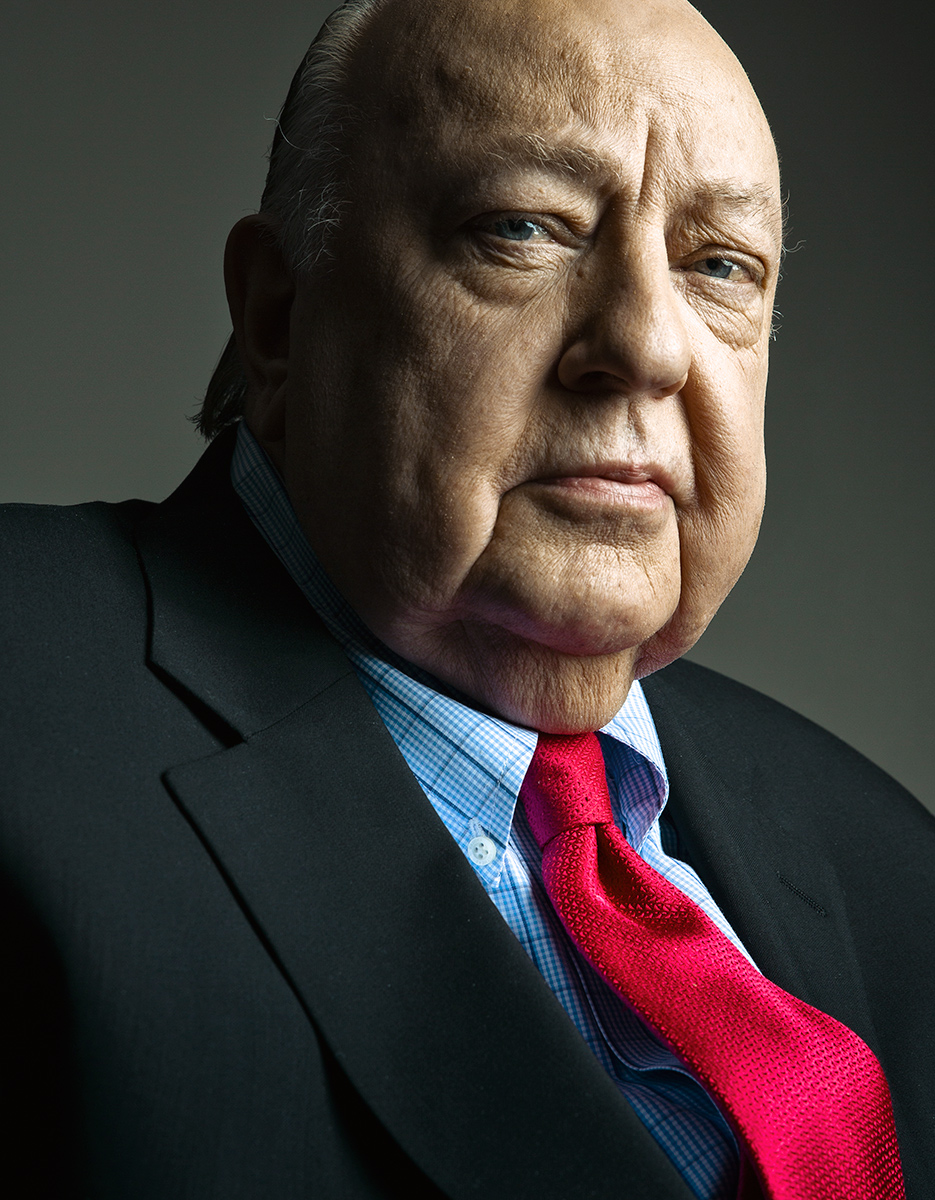 Roger Ailes by Matt Furman - www.furmanfoto.com